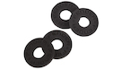FENDER Strap Blocks 4 Pack (All Black)