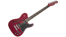FENDER JA-90 Jim Adkins Telecaster Crimson Red Transparent