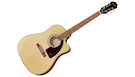 EPIPHONE AJ-210CE Outfit Natural with Case