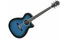 IBANEZ AEG7 TBO Transparent Blue Sunburst Open Pore