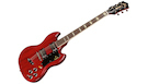 GUILD S-100 Polara Cherry Red