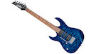 IBANEZ GRX70QA TBB LH Transparent Blue Burst