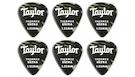 TAYLOR Premium 351 Thermex Black Onyx Guitar Picks 1.25mm (6-pack)