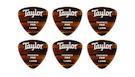 TAYLOR Darktone 346 Thermex Pro Tortoise Shell Guitar Picks 1.50mm (6-pack)