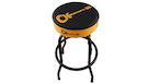 CHARVEL Bar Stool Guitar Logo Black/Yellow 30""