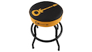 CHARVEL Bar Stool Guitar Logo Black/Yellow 24""