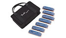 FENDER Midnight Blues 7 Pack with Case