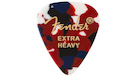 FENDER 351 Shape Premium Picks Extra Heavy - Confetti (12 Count)