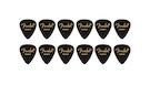 FENDER 351 Shape Premium Picks Heavy - Black (12 Count)