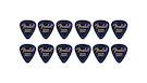 FENDER 351 Shape Premium Picks Extra Heavy - Blue Moto (12 Count)