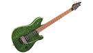 EVH Wolfgang WG Standard QM Baked Maple Fingerboard Transparent Green