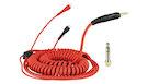 ZOMO Spiral Cord Deluxe Per Sennheiser Hd 25 - 3.5m - Rosso