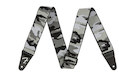 """FENDER Weighless 2"""" Gray Camo Strap"""