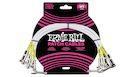 ERNIE BALL 6055 Cavo Patch White 30 cm 3 pz