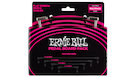 ERNIE BALL 6224 Flat Ribbon Patch Cables Multi-Pack