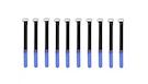 ROCKBOARD Cable Ties 10mmx120mm, Blu (10)