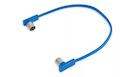 ROCKBOARD Flat Midi Cable, Blu, 30cm