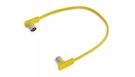 ROCKBOARD Flat Midi Cable, Yellow, 30cm
