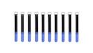 ROCKBOARD Cable Ties 20mmx200mm, Blu (10pcs)