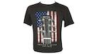 MARTIN 18CM0132M American Flag Tee Charcoal M