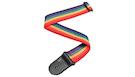 D'ADDARIO PWS111 PolyPro Guitar Strap Rainbow