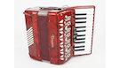 ROMANCE AC48BS Fisarmonica 48 bassi rossa Usato