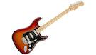 FENDER Player Stratocaster Plus Top SSS MN Aged Cherry Burst
