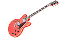 D'ANGELICO Premier Mini Dc (Stop-bar Tailpiece) Fiesta Red
