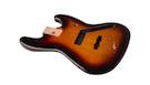 FENDER Standard Series Jazz Bass Alder Body Brown Sunburst