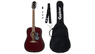 EPIPHONE Starling Acoustic Guitar Player Pack Wine Red