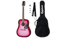 EPIPHONE Starling Acoustic Guitar Player Pack Hot Pink Pearl