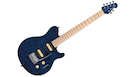 STERLING BY MUSIC MAN Axis Flame Maple Top Neptune Blue