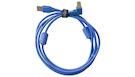 UDG U95004LB Ultimate Audio Cable USB A-B 2.0 Blue Angled 1m