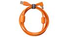 UDG U95004OR Ultimate Audio Cable USB A-B 2.0 Orange Angled 1m