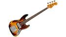 FENDER Custom Shop 1961 Jazz Bass Heavy Relic RW 3-Color Sunburst