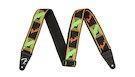 FENDER Neon Monogrammed Strap Green/Orange