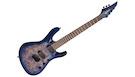 JACKSON Pro Series Signature Chris Broderick Soloist HT7P LRL Transparent Blue