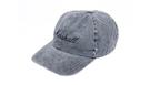 MARSHALL Baseball Cap Distressed Grey Denim