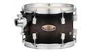 PEARL Decade Maple Tom 12x8  with ISS Satin Black Burst