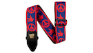 ERNIE BALL 4698 Red and Blue Peace Love Dove Jacquard Strap