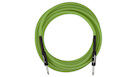 FENDER Professional Glow in the Dark Cable Green 18.6'