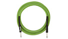 FENDER Professional Glow in the Dark Cable Green 10'