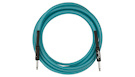 FENDER Professional Glow in the Dark Cable Blue 18.6'