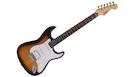 FENDER Squier Bullet Stratocaster HSS LRL Sunburst + Visual Note 2.1