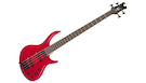 EPIPHONE Toby Deluxe V Bass Translucent Red