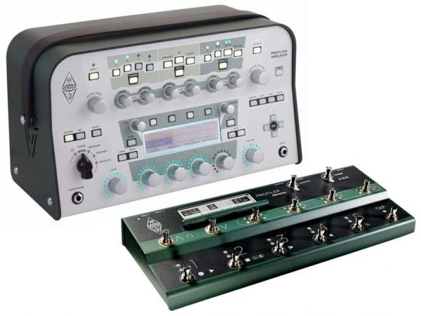KEMPER Profiling Amplifier Head WH White + Remote Control