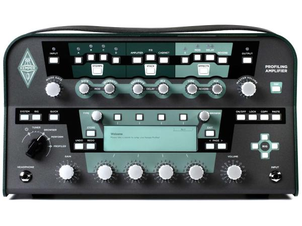 KEMPER Profiling Amplifier Head BK Black + Remote Control