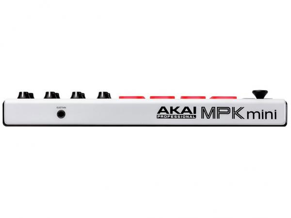 AKAI MPK Mini Mk2 White - Limited Edition