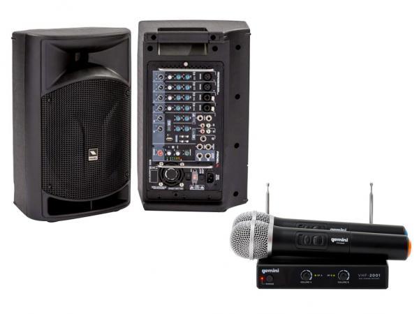 karaoke kit radio dual proel freepass 8 usb vhf 02m dual strumenti musicali net. Black Bedroom Furniture Sets. Home Design Ideas