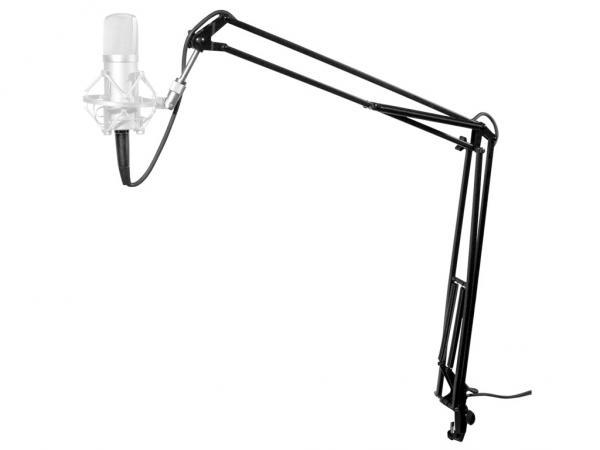 Supporto da tavolo per microfono da studio strumenti for Tavolo da studio